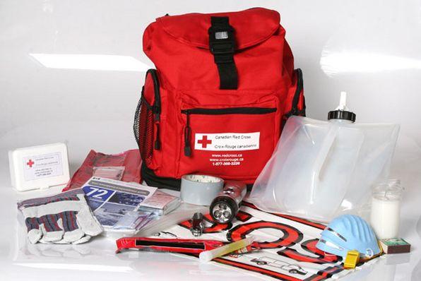 Trousse de la Croix-Rouge canadienne